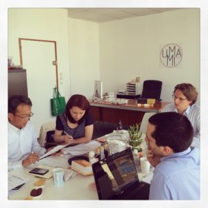 Réunion Fournisseurs au bureau