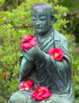 Bouddha en fleurs