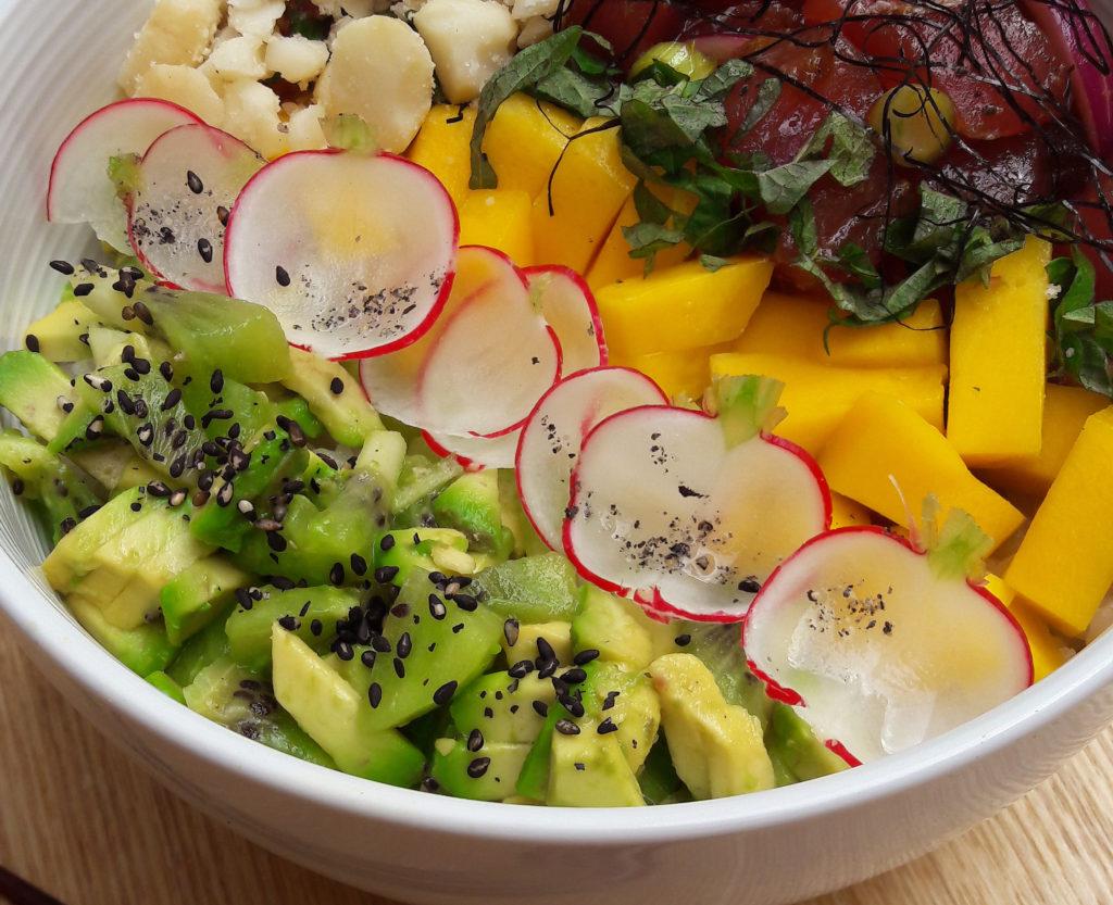 Poke bowl au thon, image du Matcha Café