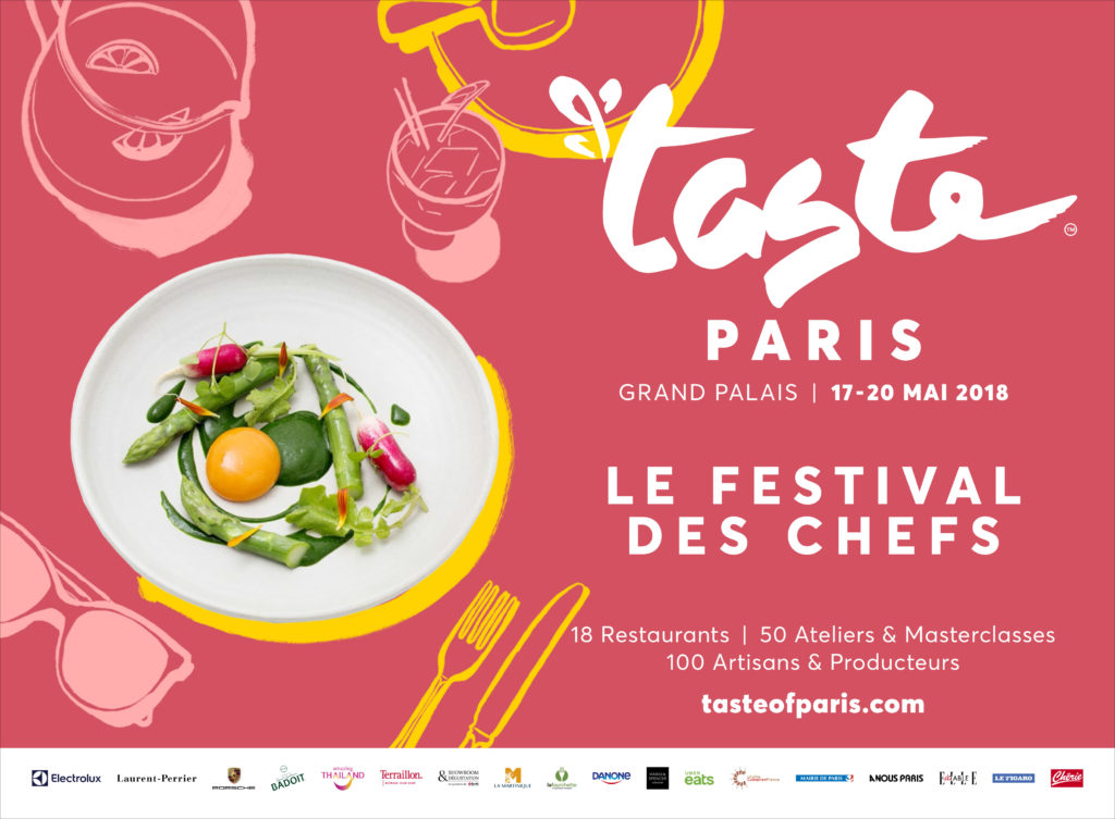 Affiche Taste of Paris - Horizontale