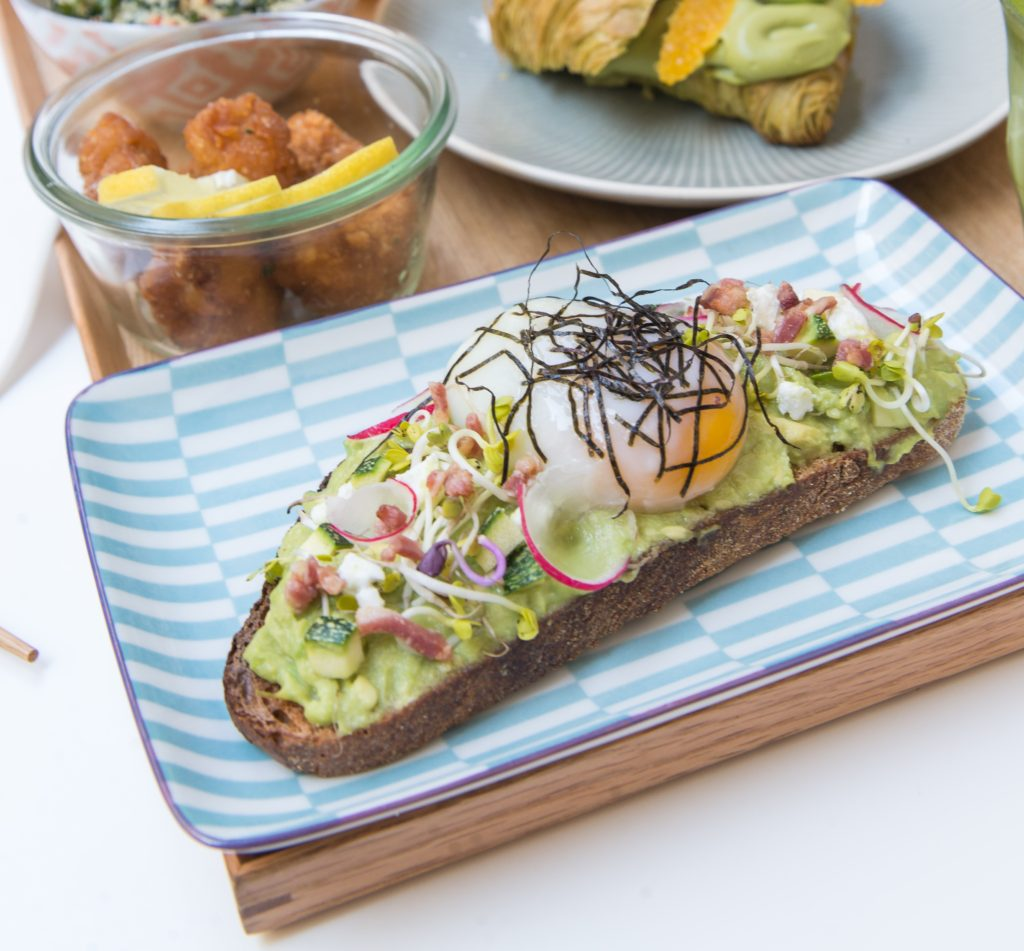 toast avocat miso photo