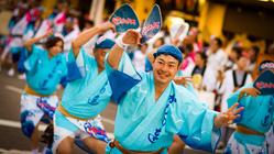 Festival Awa odori matsuri o bon
