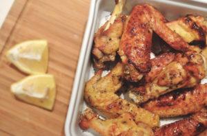 Poulet grillé au shichimi