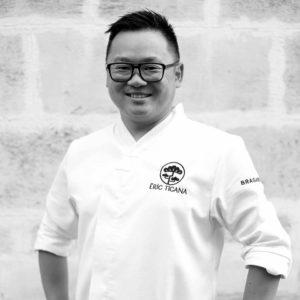 Eric Ticana, chef sushi