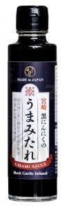 sauce à l'ail noir umami momiki sauce soja marin saké
