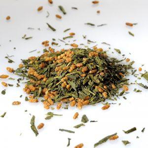 Genmaicha Umami mélange de thé vert sencha et grains de riis soufflés
