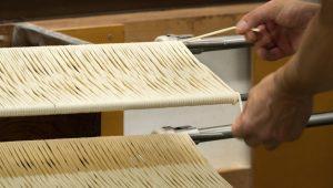 les somen sont étirées en forme de 8 nouilles japonaises umami