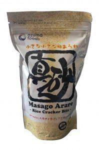 421 - Masago arare 300g produit umami fines billes de riz croustillantes