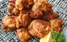 poulet frit karaage japonais, shiokoji liquide et sauce soja au koji