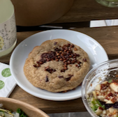 Cookie au sobacha sarrasin torréfié