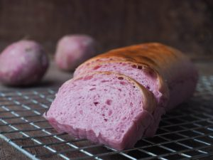pain brioché à la patate douce violette satsuma