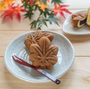 gâteau japonais momiji manju