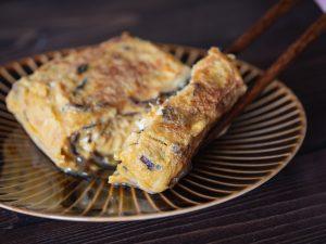 omelette au tsukudani
