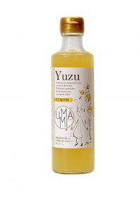 Vinaigre yuzu miel umami à boire sirop
