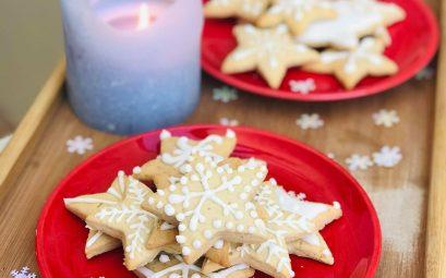 Biscuits de Noël au sirop de gingembre noir