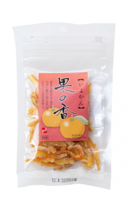 Écorces de iyokan confites 30g agrume japonais orange