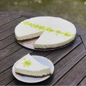Cheesecake au sudachi et speculoos