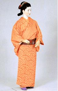 Kosode de l'époque d'Edo (Google image)