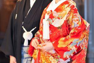 Kimono traditionnel de mariage