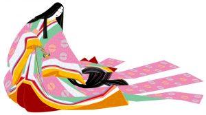 Juni Hitoe - Kimono aristocratie japonaise