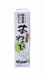 wasabi râpé véritable hon wasabi en tube vendu chez umami paris