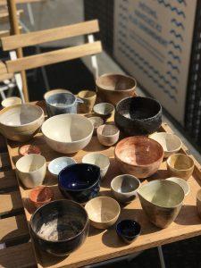 Céramique japonais disponible au matcha cafe
