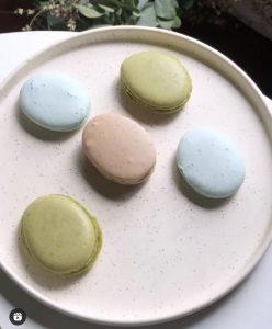 Macarons aux saveurs japonaises