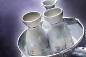 saké chauffé